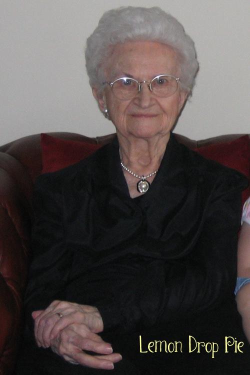 grandma White hair