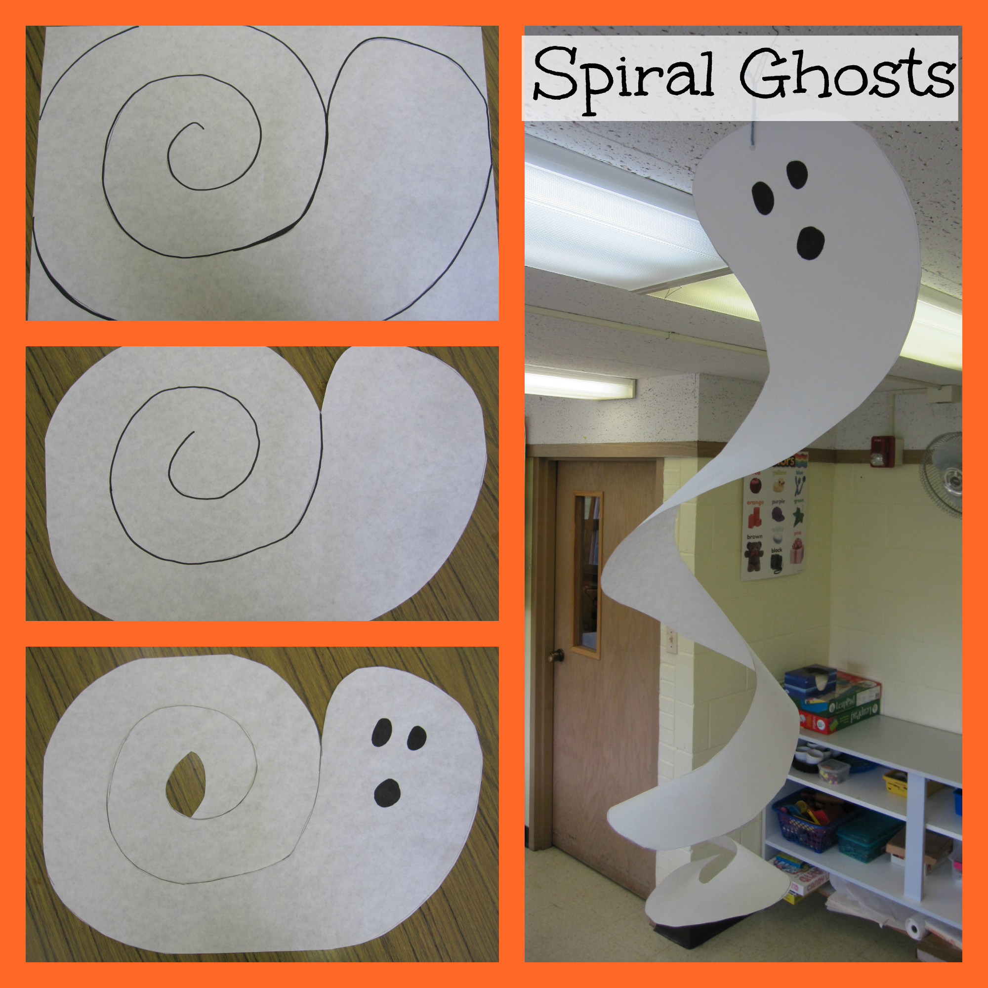 Halloween decorations to make out of paper - Cool Halloween Decorations Made Out Of Paper How To Make A Paper These Tissue Paper Pumpkins