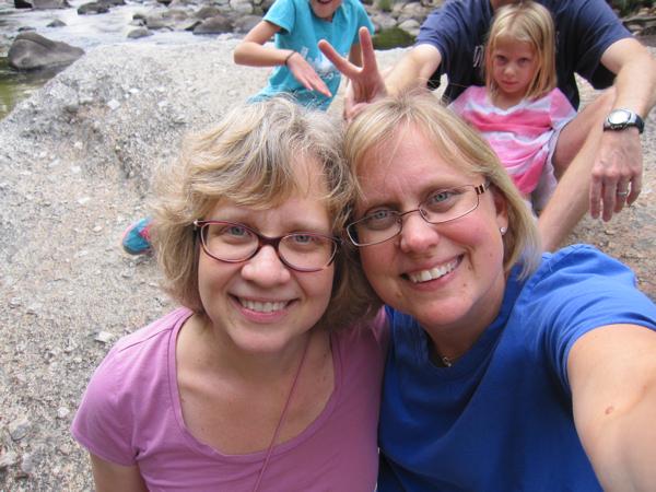 Merced River selfie