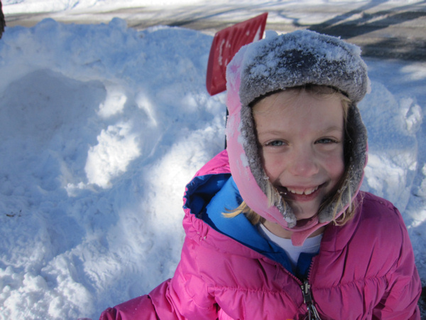 Emmy's snow house