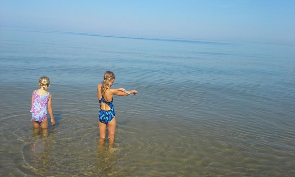 Lake Michigan beach